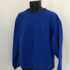Royal Blue Champion Crewneck
